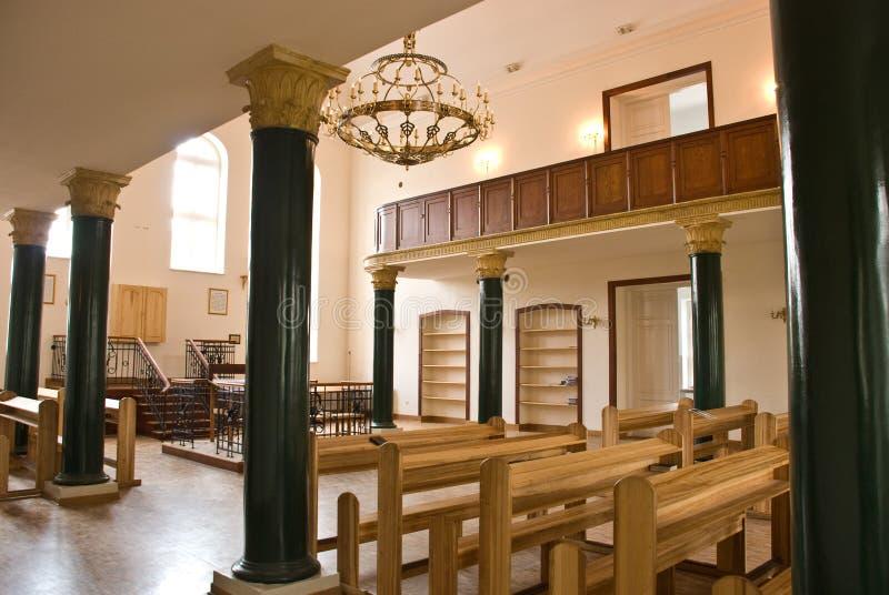 鲁布林犹太教堂 库存照片