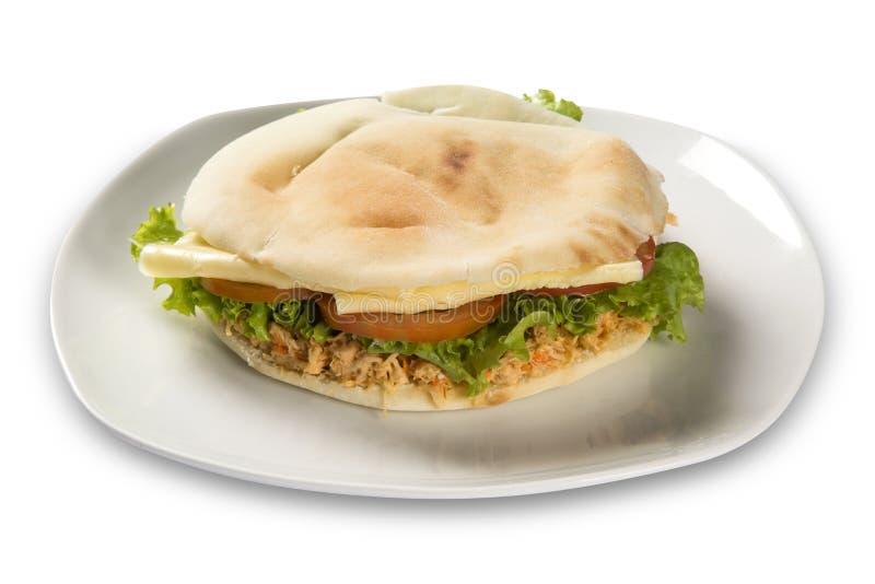 贝鲁特-一个巴西三明治 库存图片