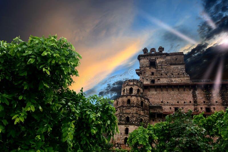 巴鲁阿萨加尔堡垒 免版税库存图片