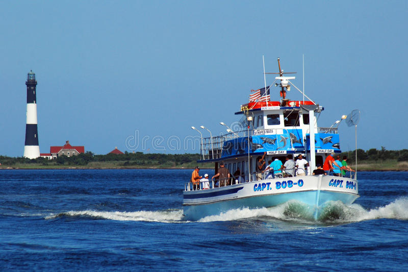 鲍伯O上尉火海岛的 免版税库存照片