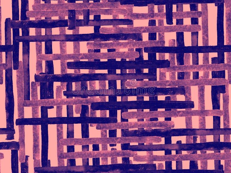 鲍豪斯建筑学派无缝的样式 向量例证