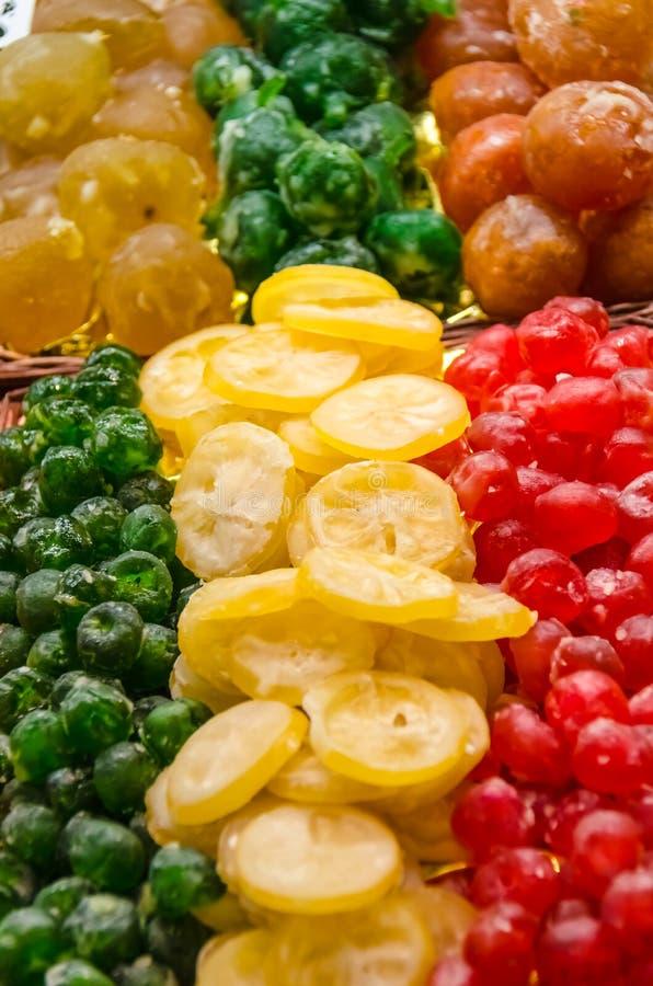 鲜美干果子 免版税库存照片