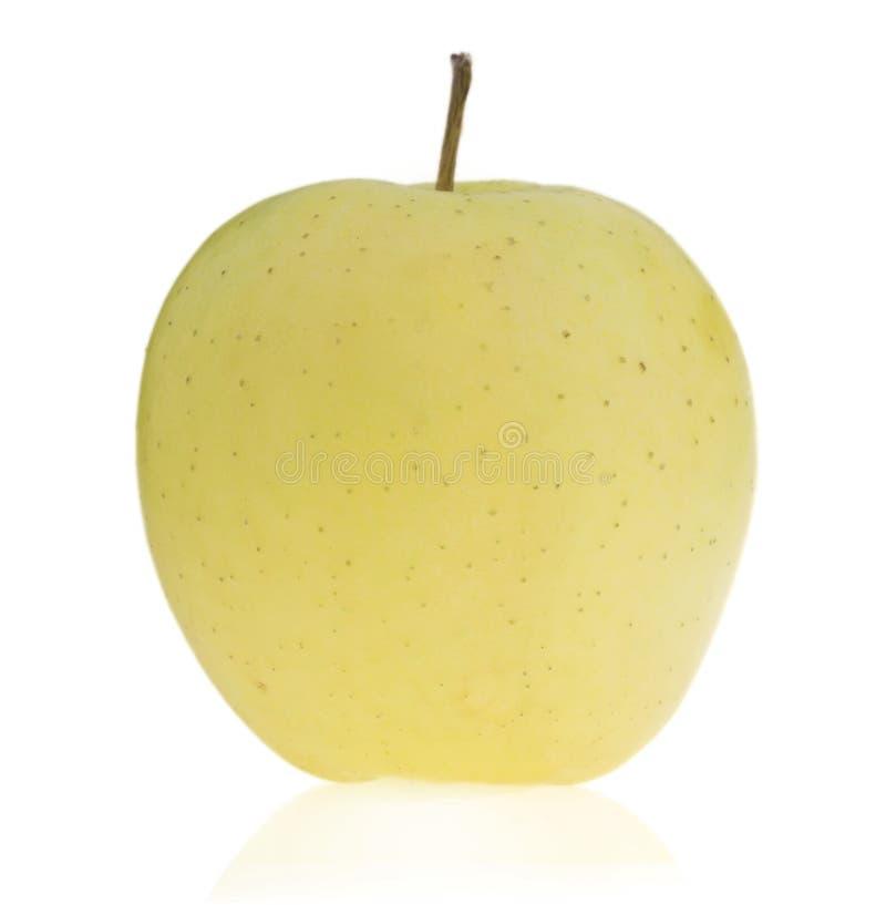 鲜美成熟绿色苹果。 免版税库存图片