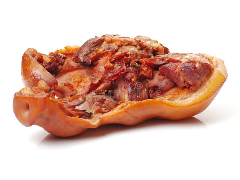 鲜美猪肉口鼻部 免版税库存图片