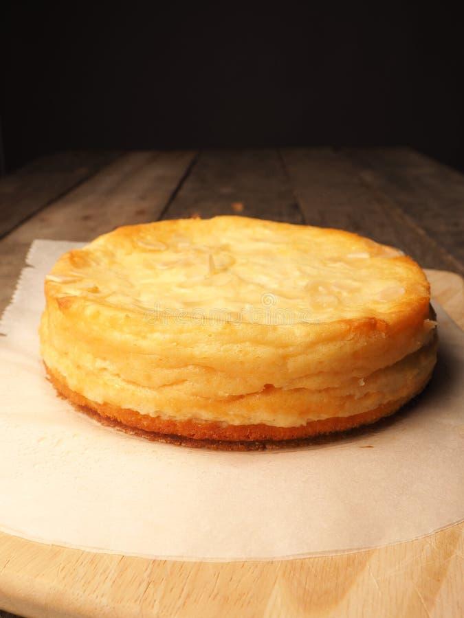 鲜美甜乳酪蛋糕 免版税库存图片