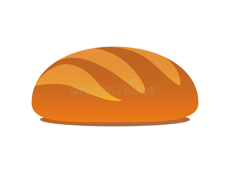 鲜美的大面包 向量例证