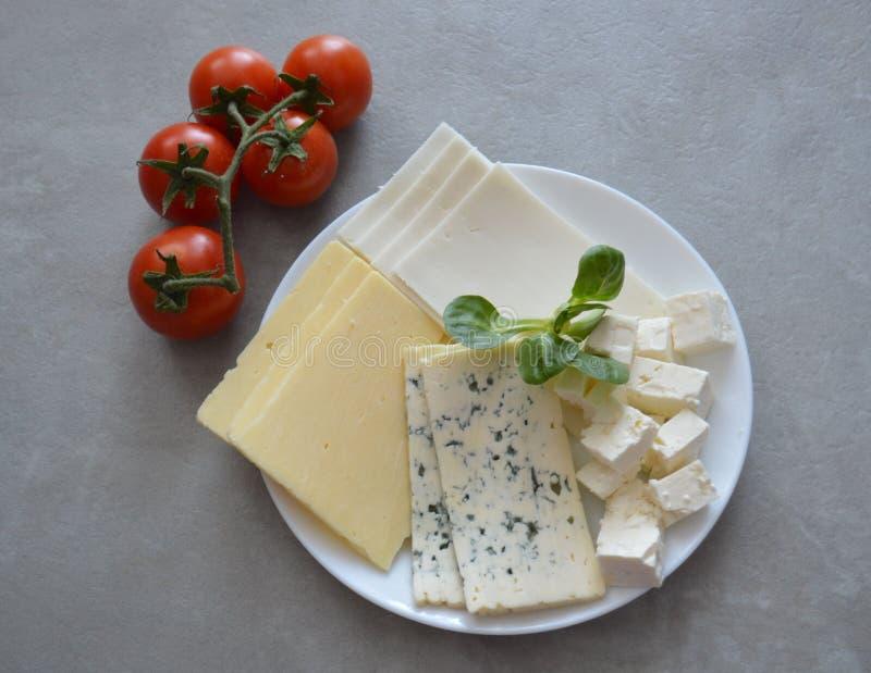 鲜美的干酪 库存照片