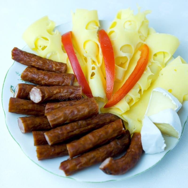 鲜美的早餐 免版税库存图片