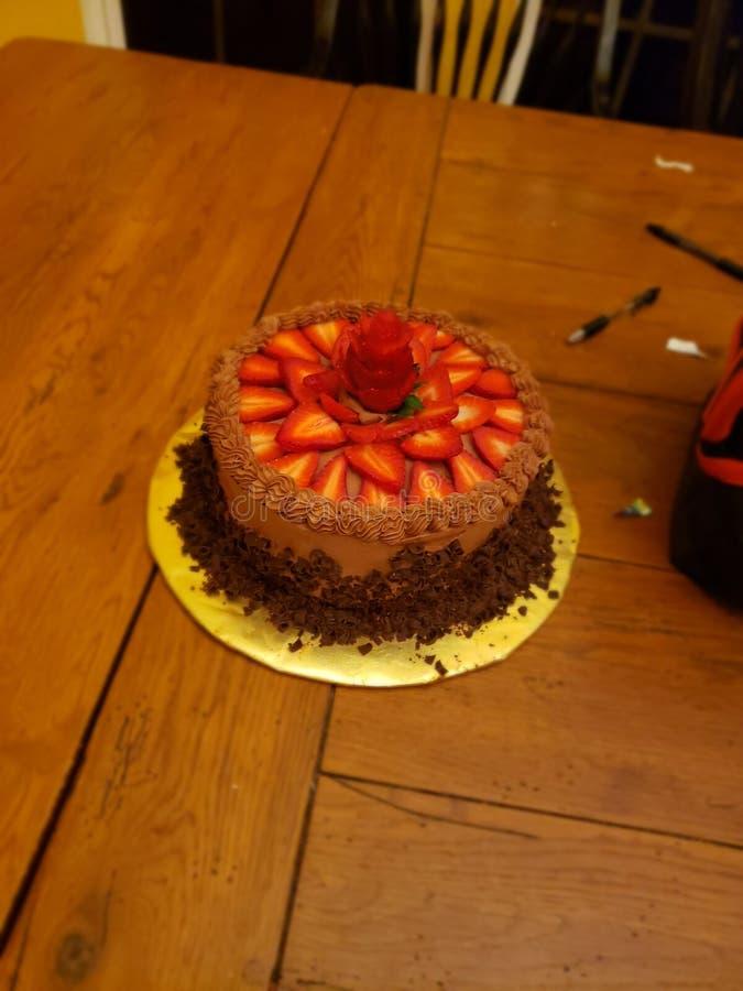 鲜美蛋糕 免版税库存照片