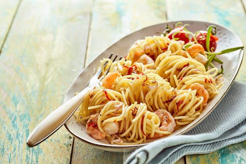 鲜美Spaghettti 库存图片