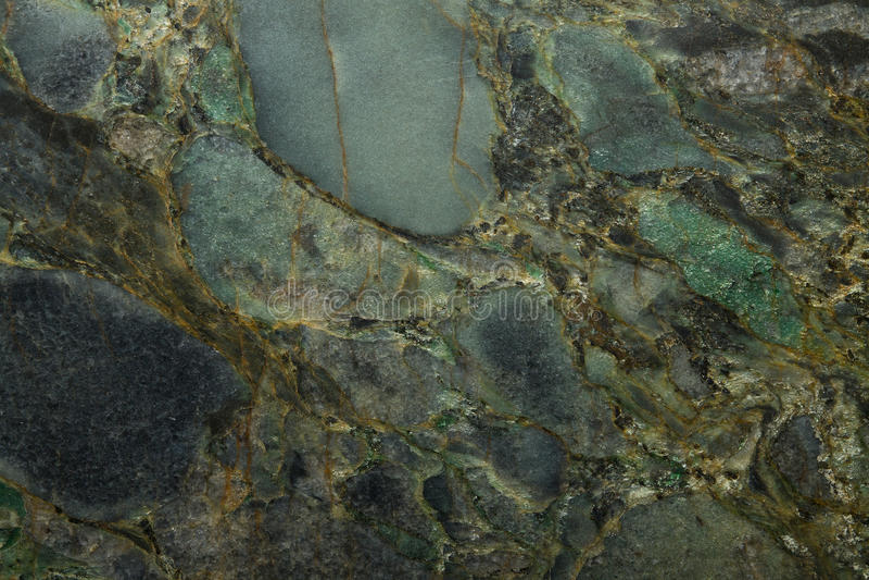 鲜绿色石头纹理花岗岩 库存照片