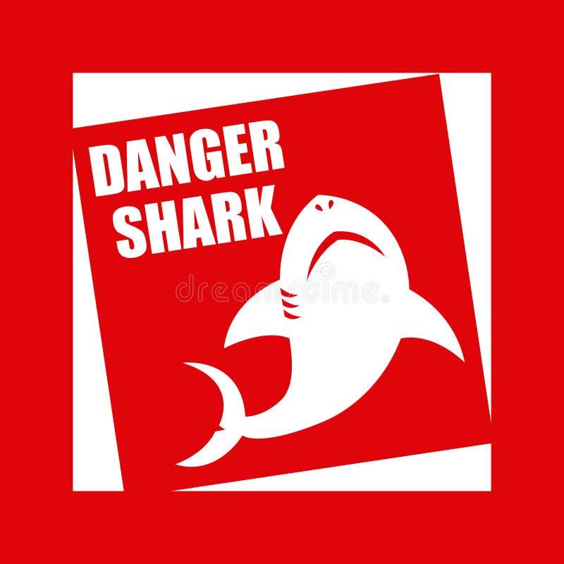 鲨鱼设计 向量例证
