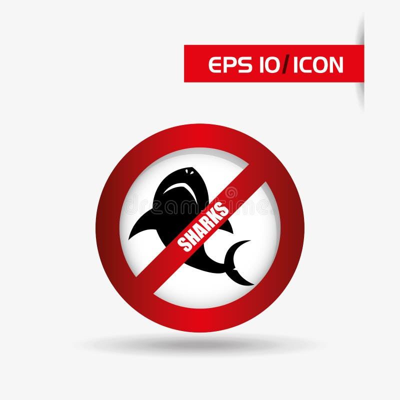 鲨鱼象设计 皇族释放例证