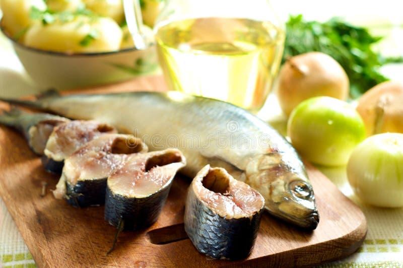 鲱鱼葱 库存图片