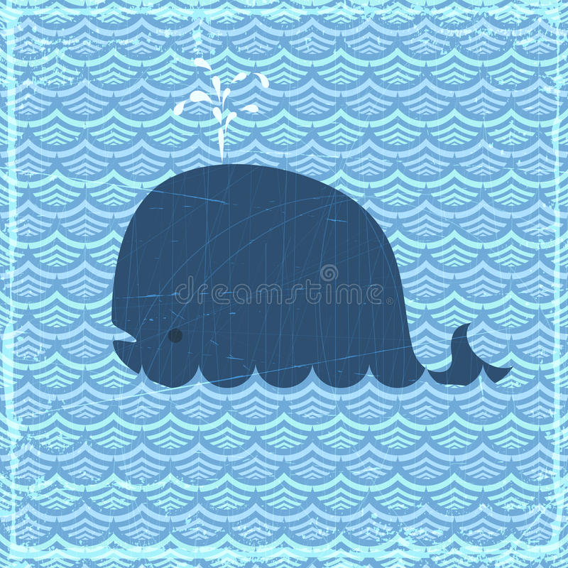 鲸鱼 向量例证