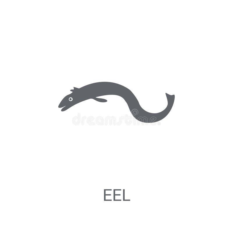 鳗鱼象  向量例证