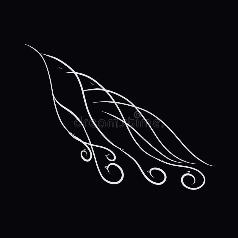 鸟、双边,无限和团结的创造性图象 皇族释放例证
