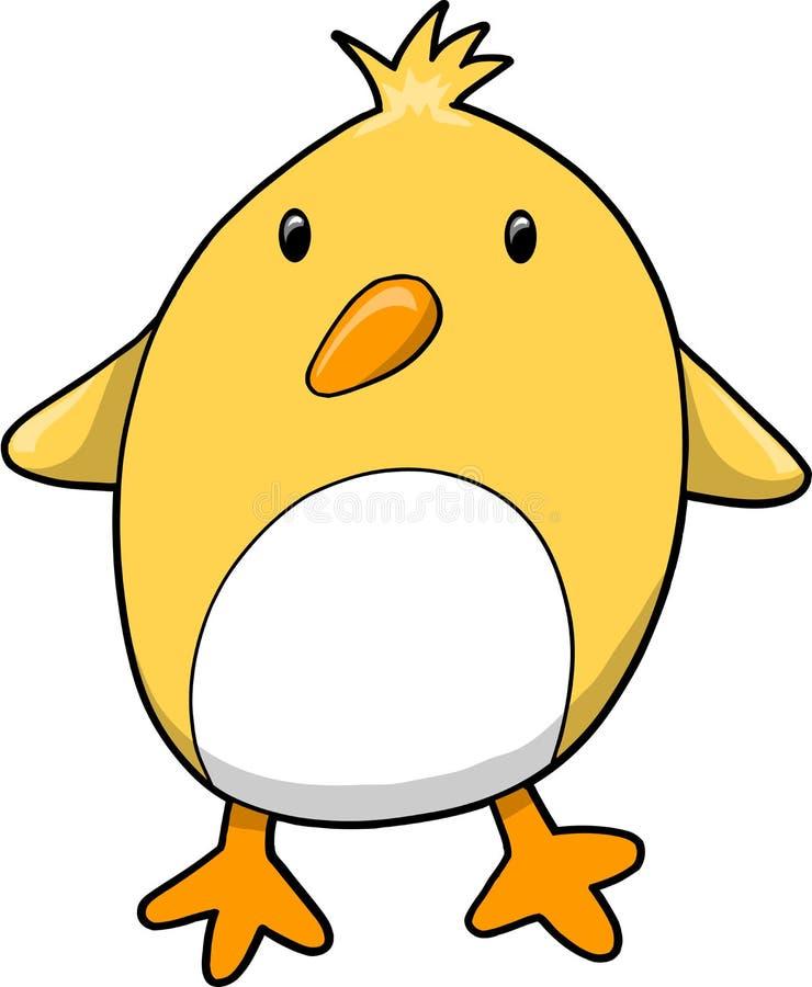 鸟小鸡例证向量 向量例证