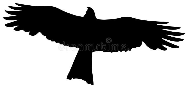 鸟牺牲者 库存例证