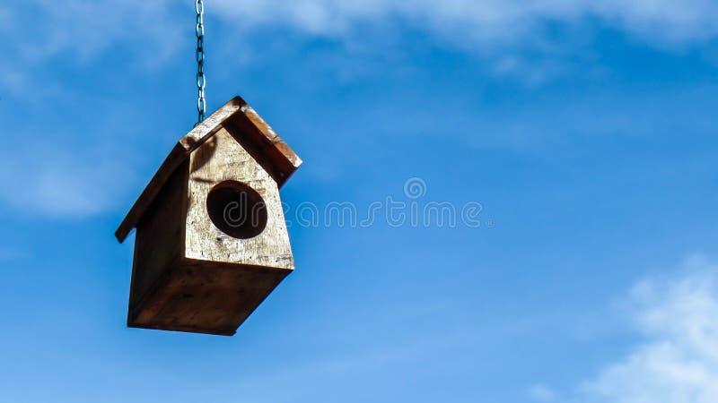 鸟舍 免版税库存照片