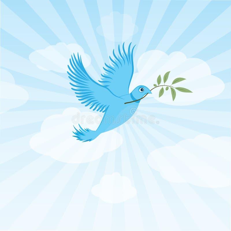 鸟鸠和平慌张 库存例证