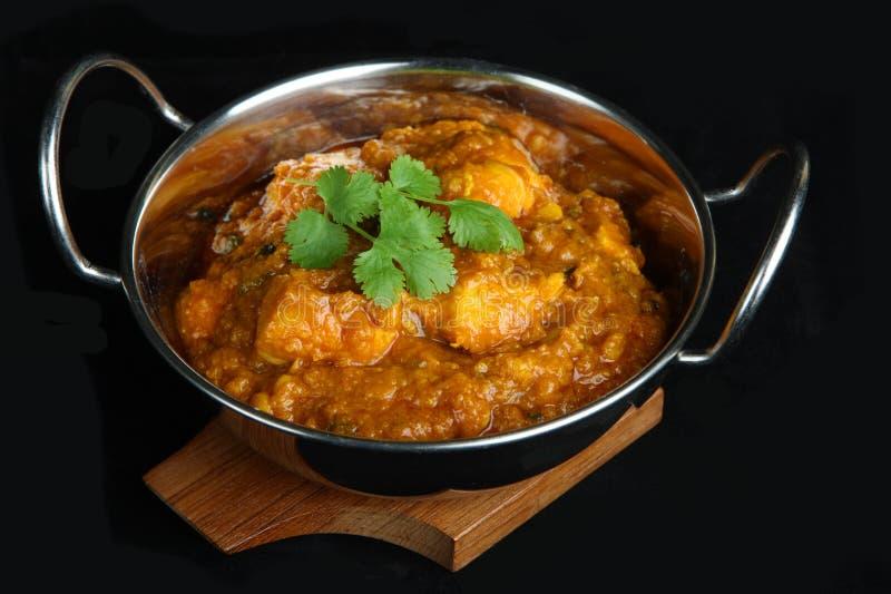 鸡咖喱dansak印地安人 库存照片
