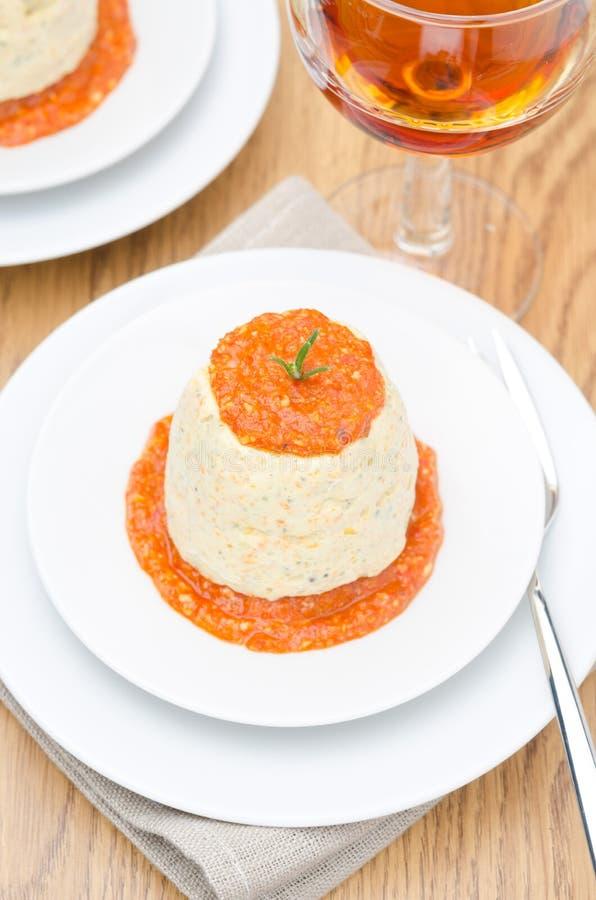 Download 鸡奶油甜点用南瓜、绿色和辣椒酱 库存照片. 图片 包括有 厨师, 餐馆, 蛋白牛奶酥, 服务, 捷克人, 玻璃 - 30334226