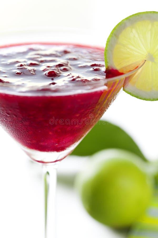 鸡尾酒代基里酒莓 库存图片