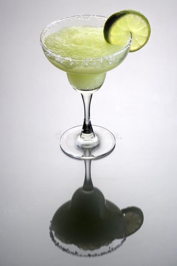 鸡尾酒冻结的玛格丽塔酒 库存图片