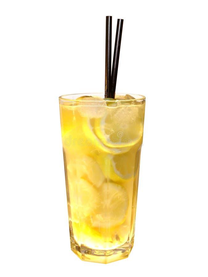 鸡尾酒柠檬伏特加酒 图库摄影