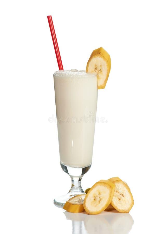 鸡尾酒牛奶 免版税图库摄影