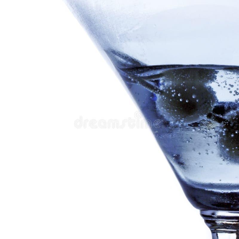 鸡尾酒马蒂尼鸡尾酒 免版税库存照片