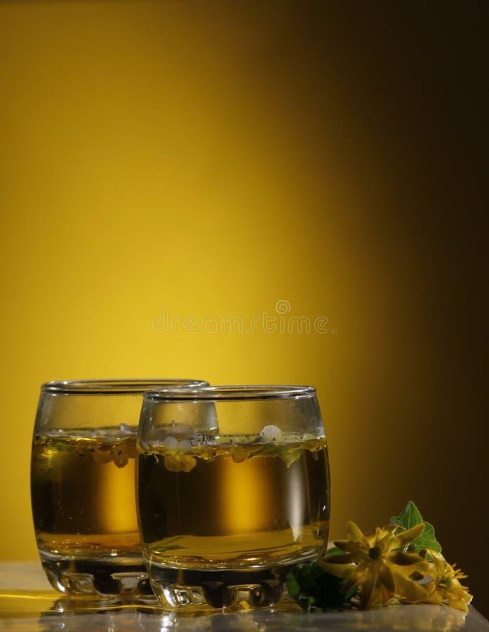 鸡尾酒,颜色饮料 免版税库存照片