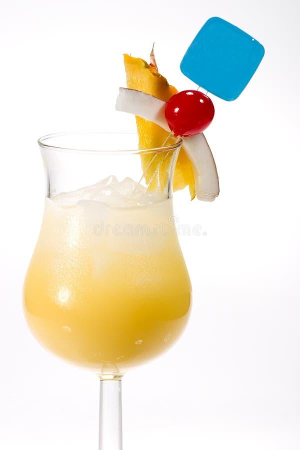 鸡尾酒colada多数pina普遍的系列 库存照片