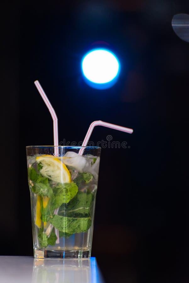 鸡尾酒Mojito 免版税库存照片