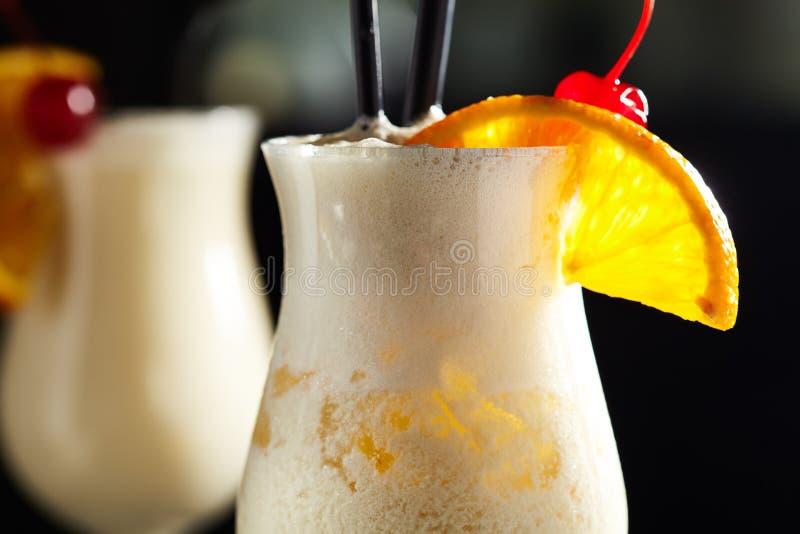 鸡尾酒Pina colada 库存图片