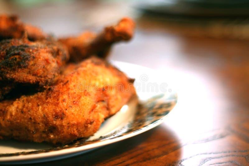 鸡油煎的南部 免版税库存图片