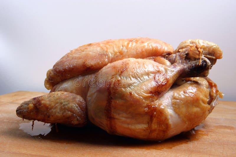 鸡烘烤 图库摄影