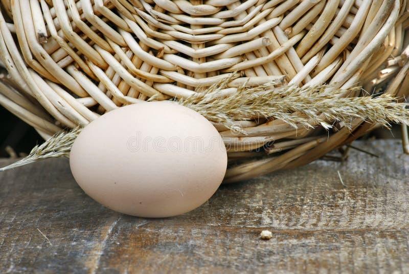 鸡蛋早餐 免版税图库摄影