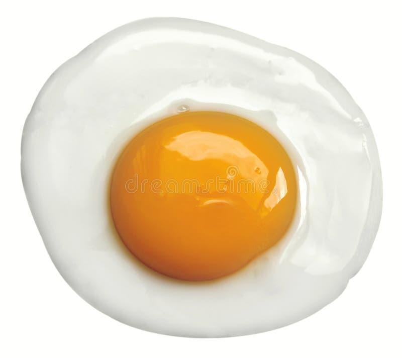 鸡蛋油煎了 免版税图库摄影
