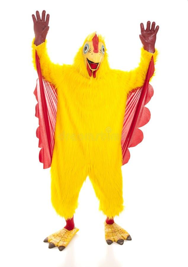 鸡递人  免版税库存图片