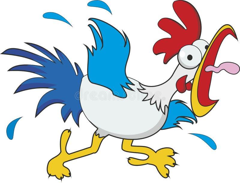 鸡 向量例证