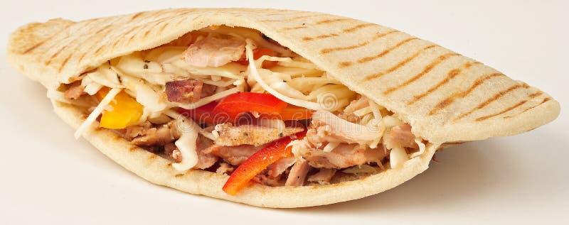 鸡kebab 库存照片