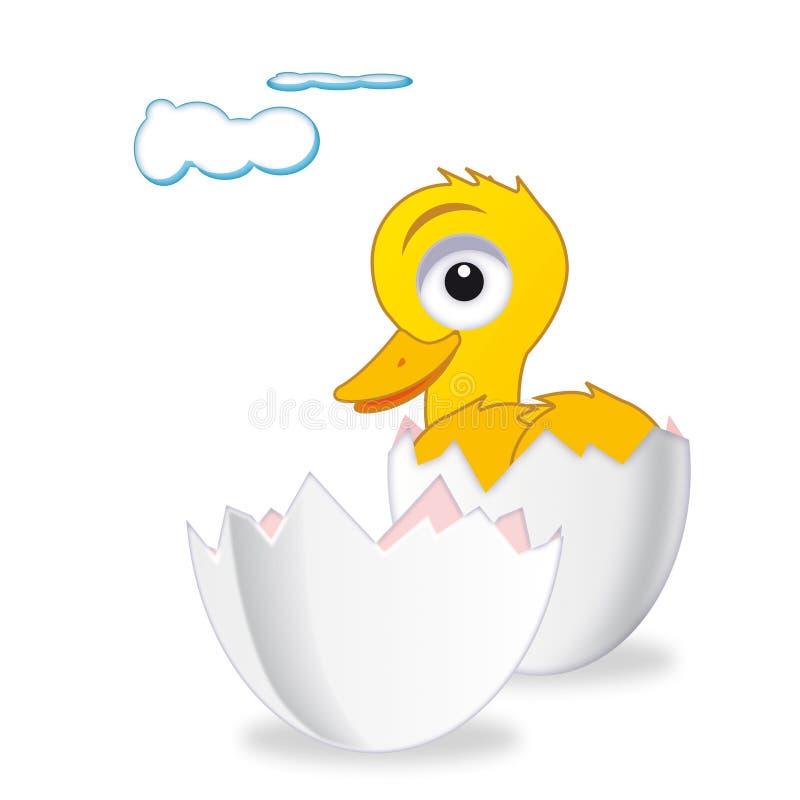 鸭子复活节 向量例证