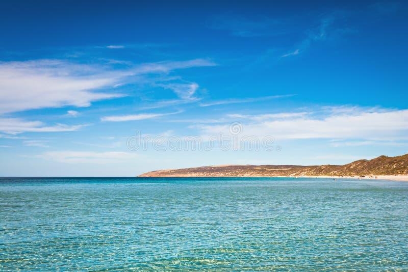 鸸海湾,坎加鲁岛,南澳大利亚 库存图片