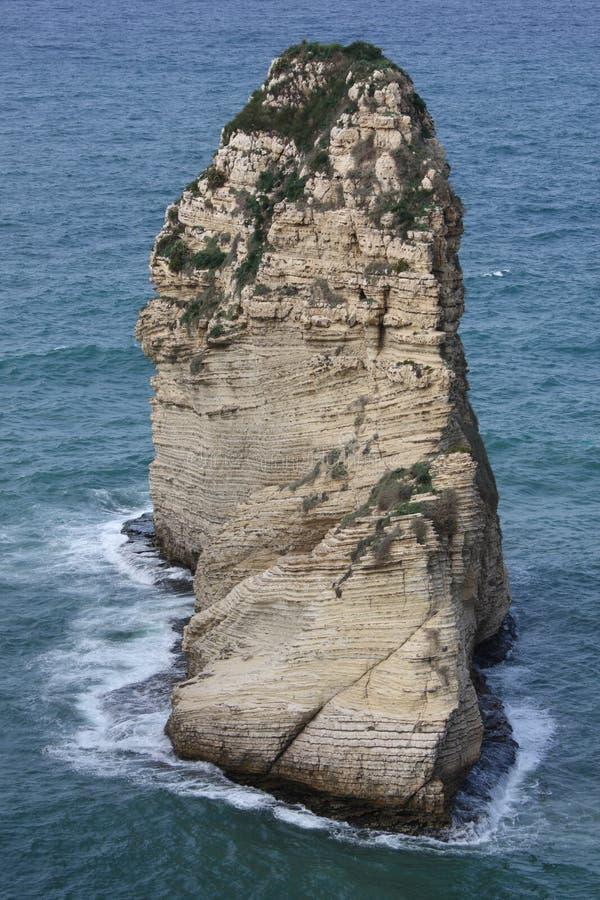 鸽子岩石 图库摄影