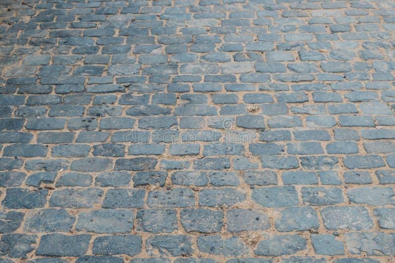 鹅卵石背景-街道,石路面路 库存图片