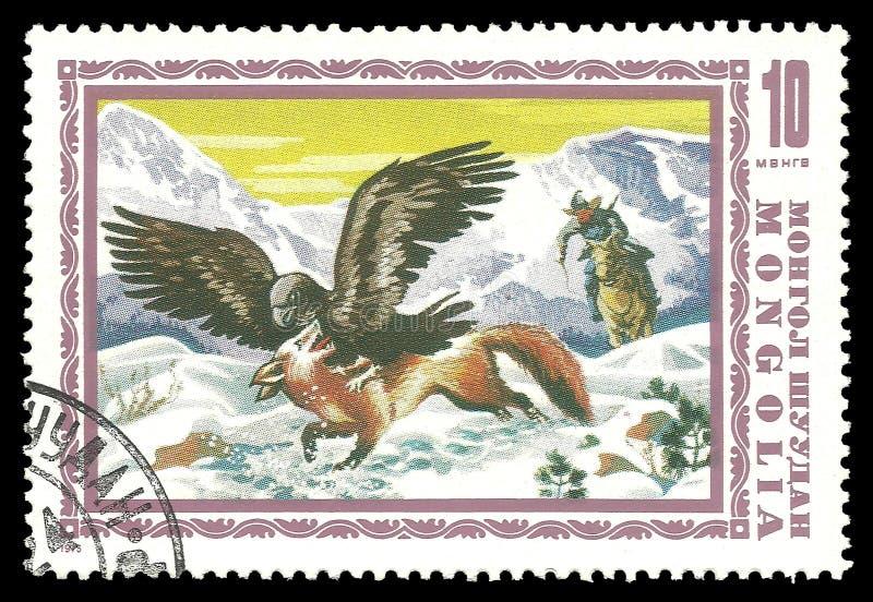 鹫和镍耐热铜 免版税图库摄影