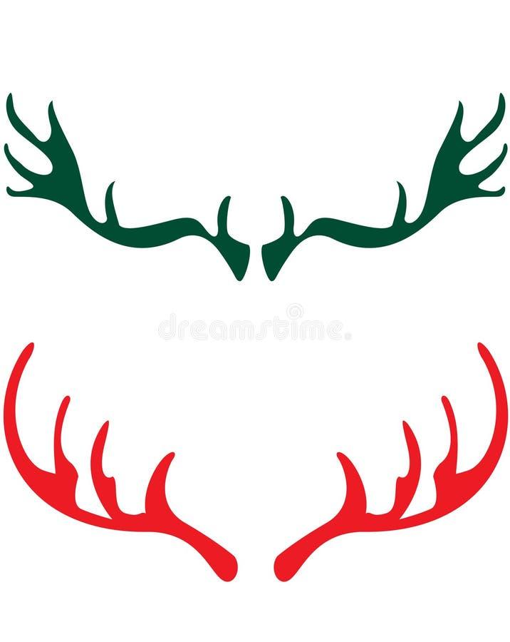 鹿垫铁 向量例证