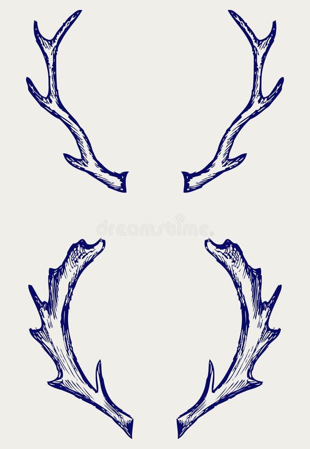 鹿垫铁 库存图片
